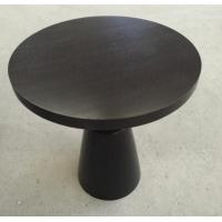 Quality Small Hotel Wooden Dining Room Tables , Wood Top Round Breakfast Table for sale