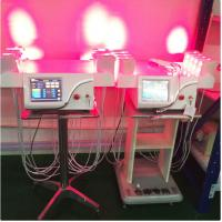 Vertical Cold Laser Lipo Machine / Laser Weight Loss Machine Higher Safe for sale