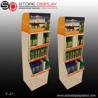 China pos floor display stand with grid/compartments on sale