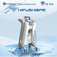 China 2016 hottest Professional HIFU slimming machine High Intensity focused ultrasound fat reduction slimming machin for spa on sale