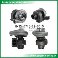 Buy cheap Komatsu HX35 6745-82-8010 Turbocharger Cummins QSB 4955159 Turbo for Holset branded supercharger from wholesalers