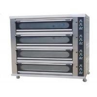 Quality 4 Deck 8 Trays Commercial Baking Oven Digital Display Ceramic Heating Deck Oven for Bread for sale