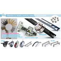 Hardware accessories for display cabinet