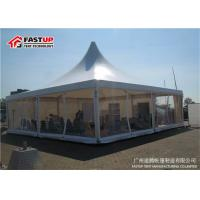 Quality Popular Marquee Gazebo Tent , 4 By 4 Large Outdoor Party Tents With Mesh Window for sale