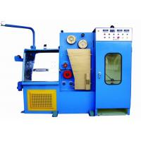 Buy cheap 11KW+4KW Fine Wire Drawing Machine User Friendly Machine Design For Non Ferrous from wholesalers