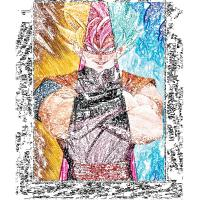 Quality Stock 30*40cm 3D Anime Poster With LED Frame For Home Decoration for sale