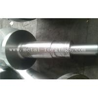 Quality 4140 34CrNiMo6 4340 Alloy Steel Metal Forgings Shaft Blank Rough Machined For Wind Power Industry for sale