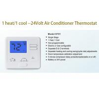 Buy cheap Manual Heating And Cooling AC Wired Room Thermostat For Central Air Conditioner from wholesalers