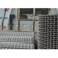 Quality Food Processing Wire Mesh SS Conveyor Belt For Cooling And Freezing for sale