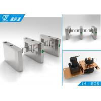 Quality Waist High Swing Gate Turnstile 304 Stainless Steel Bidirectional Direction for sale