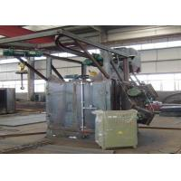 Quality Double Hooks Automatic Shot Blasting Machine Airless Dustless Custom Color for sale