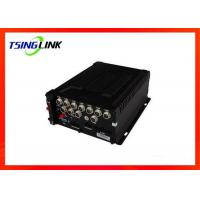 Quality 8-36V 4G Wireless HD Vehicle Mobile DVR 4 Channel With SD Card ESATA for sale