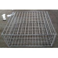 Buy cheap 2*1*1 M Galvanized Welded Gabion Basket Boxes For Retaining Wall from wholesalers