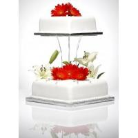 Quality Beautiful Shape Acrylic Cake Stand Acrylic Displays for sale