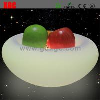 Quality New Designed PE Material Luminous Fruit Plate For Bar for sale