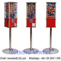 Buy High Quality Coin Operated Gumball Capsules Toy Mini Vending Game Machine at wholesale prices