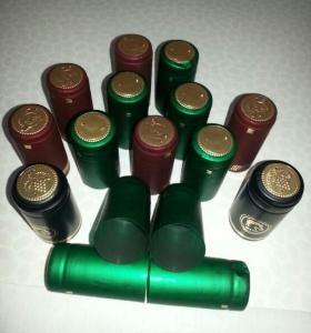 Quality Hot Stamping PVC Shrink Capsules UV Resistant For Wine Spirit / Olive Oil for sale