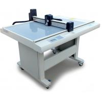 Quality Thin PVC Flatbed Cutting Plotter , Adhesive Film Cutting Machine For Card Paper for sale