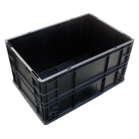 Quality Glossy Lamination Static Dissipative Aseptic ESD Storage Tray for sale