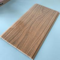 Buy 25cm Decorative Plastic Wall Panels , Wood Interior Wall Paneling Excellent Insulation at wholesale prices