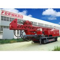 Quality 1800m DTH RC Top Drive Rig Water Well Drilling Rig With Crawler Mounted for sale
