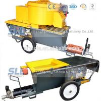 Quality 4m3 / H Mortar Spraying Machine Exterior Wall Plastering Pumping Delivery 30m For Building for sale