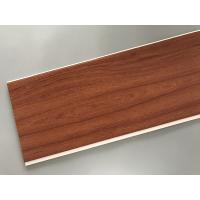 Buy Eco Friendly PVC Wood Plastic Laminate Panels Flat Shape 250 × 8mm × 5.95m at wholesale prices
