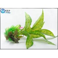 Buy 40CM Green Plastic Artificial Aquarium Plants For Fish Tank Landscaping at wholesale prices