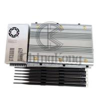 China High Power 4GLTE Wifi Signal Disruptor Portable Cell Phone Wifi Jammer Jamming Up To 80m on sale