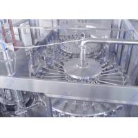 Quality 380V 50HZ Three Phase PET Bottle Juice Filling Machine With 40 Pieces Heads for sale