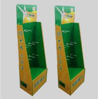 Quality Hook type cardboard shelf, cardboard display rack, toy display stand, paper display stand,Size can be customized for sale