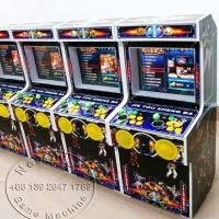 Buy Multi Games Children Coin Operated Video Mini Arcade Cabinet Street Fighter Game Machine at wholesale prices