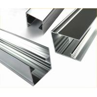 China Length Customized Polished Aluminium Profile Extrusion For Doors / Windows on sale