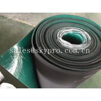 Quality Double layer anti-static rubber matting rolls / ESD rubber flooring sheet roll for sale