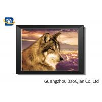 Quality OEM Flip Effect 3D Lenticular Picture For Hotel Decoration 30 x 40 cm for sale