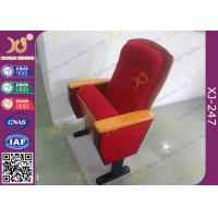 Quality Sound Absorption Conference Hall Seating Chair With Soft Closing Seat Pad Noise Free for sale