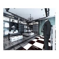 Quality Commercial Retail Garment Shop Fittings High Grade Customized With Display Racks for sale