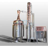Quality 200L 500L 1000L Red Copper Alcohol Vodka Pot Still Distiller for sale
