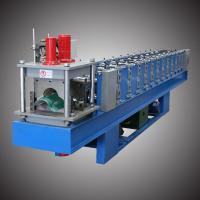 China 4-5m/min Roof Ridge Cap Roll Forming Machine Fully Automatic Control on sale