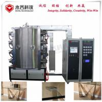Quality Metal Table Base Pvd Coating Machine , Tempering Glass Gold Vacuum Plating Equipment for sale