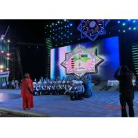 Quality 65536 Dots / M² P3.91 Stage Rental Led Display , Led Backdrop Screen Rental for sale