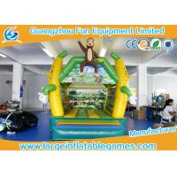 Quality 4*3 M PVC Tarpaulin Inflatable Bouncy Castle Monkey Jumping Area house for sale