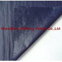 Quality Various density wrinkled taffeta fabric for sportwear for sale