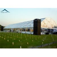 Quality Polygon Shape Large Outdoor Marquee Tents 1500 People Luxury Decorations for sale
