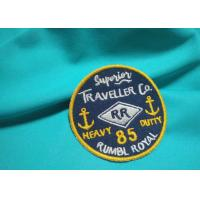 China Customized Silk / Nonwoven Embroidered Uniform Patches Military Hat Patches on sale