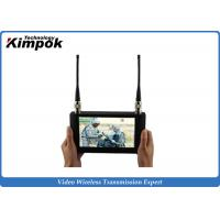Quality Touch Screen HD Wireless Video Receiver 7 Inch LCD Monitor For COFDM Transmitter for sale