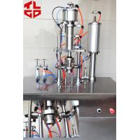 Buy Refrigerant Freon Under Cap Vacuum Semi Automatic Aerosol Filling Machine For R134a / R410a / R22 at wholesale prices