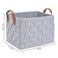 Quality China factory products home Felt Storage Baskets for sale