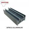 Powder coated surface aluminum window extrusion profile for Kenya market for sale