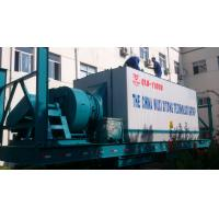 1000C type Freda burner mobile asphalt plant 90kw induced draft fan 50mm mineral